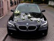 Аренда прокат авто BMW 5 (E 60) RESTYLING с водителем