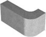 Перегородочный блок радиусный